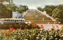 Одеса. Потьомкінські сходи. Фото А. Підберезького з комплекту листівок «Одеса». 1962 р.