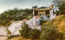 Одеса. Санаторій «Примор,я» в Аркадії. Фото А. Підберезького з комплекту листівок «Одеса». 1962 р.