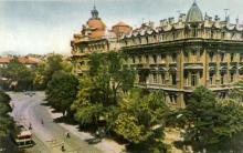 Одеса. Вулиця Садова. Фото А. Підберезького з комплекту листівок «Одеса». 1962 р.
