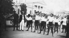 Одесса. Возле исторического музея. 1920-е гг.