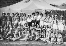 Республіканський піонер. табір «Молода гвардія», м. Одеса. 1962 р.