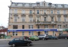 Дом № 10  с ул. Ришельевской. Фото Александра Стугарева. 2011 г.