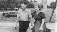 В сквере им. Кирова. Одесса. 1951 г.