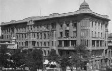 Профсовет. Одесса. На обороте штамп «Поштова картка». 1930-е гг.