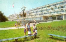 Одеса. Піонерський табір «Молода гвардія». Фото Р. Якименка з комплекту листівок «Одеса». 1980 р.