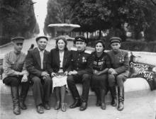 Одесса. Лермонтовский курорт. 1946 г.
