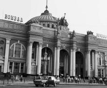 Вокзал, фото РИА «Новости», 1981 г.