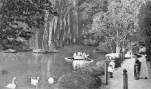Одесса. Хаджибейский лиман. Вид озера справа (черно-белая фотография). Открытое письмо. Издание Асседоретфегс