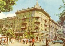 Дом китобоев. Цветное фото А. Подберезского из набора открыток достопримечательностей Одессы, 1963 г.
