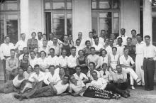 Кружок танцев. Санаторий НКВД. Одесса. 1939 г.