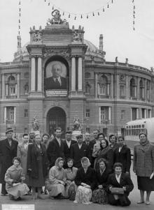 Театр оперы и балета. Одесса. 1961 г.