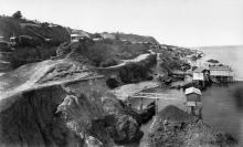 Малые фонтаны, фотография конца 1870-х годов