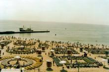 Пляж «Чайка» на 10 ст. Фонтана, фотограф Кенно Туоминен, 1976 г.