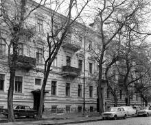 Одесса. Дом № 29 на ул. Подбельского. 1980-е гг.