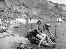На Монастырском пляже, 1951 г.