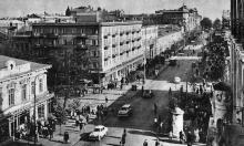 Дерибасовская угол Ленина (Ришельевская), 1970-е годы