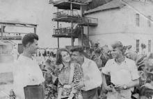 На Одесском ипподроме. 1938 г.
