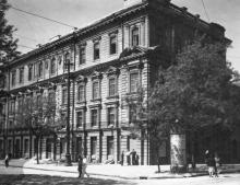Одесса. Проспект Сталина, угол Чичерина. 1953 г.