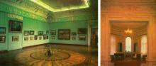 Центральний зал Художнього музею. Інтер,єр Будинку вчених. Фото Р. Папік,яна на листівці з комплекту «Одеса». 1982 р.