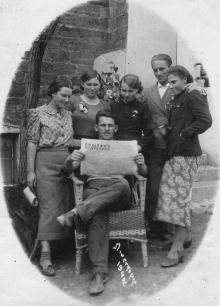 Одесса. Люстдорф. Дом отдыха «Пищевик». 1940 г.