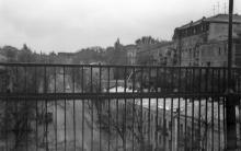 Вид с Тещиного моста, фотограф С. Ляшков, 1992 г.