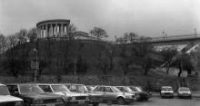 Колоннада Воронцовского дворца, Тещин мост, фотограф С. Ляшков, 1992 г.