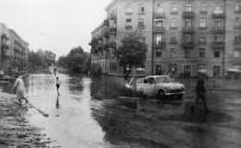 Одесса. Среднефонтанская, 69 (пр-т Гагарина, 16/1). Август, 1961 г.