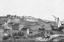 Одесса. Литография. Конец 1830-х гг.