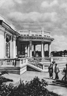 Одеса. Будинок відпочинку «Примор,я». Фото на поштовій листівці з комплекту «Одеса». 1955 р.