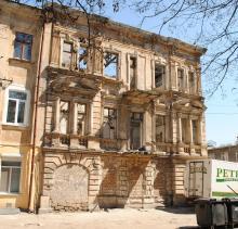 Одесса. Успенский переулок, № 11. Фотограф Александр Сандлер. 26 апреля 2010 г.