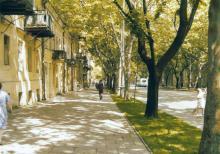 На улице Пушкинской, фотограф Кенно Туоминен, 1976 г.