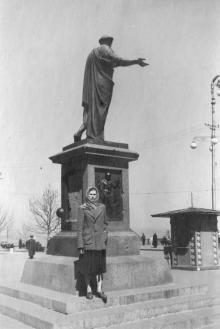 Памятник Дюку де Ришелье, фотограф Кенно Туоминен, 1976 г.
