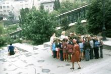 На Потемкинской лестнице, 1977 г.