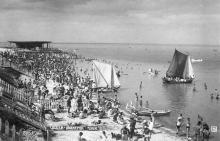 Одесса. Ланжерон. Пляж. Начало 1930-х гг.