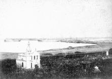Фотография «Платоновская и Карантинная гавань, Свято-Николаевский храм, вид с Николаевского бульвара», конец XIX века