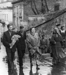 Одесса. Спуск с ул. Ласточкина. 1950-е гг.