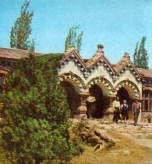 Куяльницкая грязелечебница. Фото в брошюре «В Одессе научной». 1976 г.