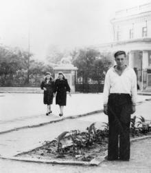 Одесса. Приморский бульвар и Дворец пионеров. 1950-е гг.