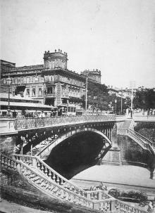 Одесса. Полицейский мост. Открытое письмо. Фототипия Отто Ренар