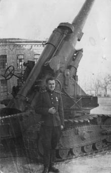 ОАОЛУ (Одесское артиллерийское ордена Ленина училище) им. Фрунзе. 1950-е гг.