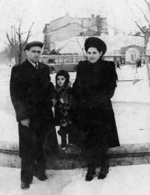 Одесса. На пл. Толстого. 1950-е гг.
