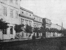 Дом, где жил А.С. Пушкин (на Пушкинской улице). Фотография в книге «Одесса. 1794–1894». 1894 г.
