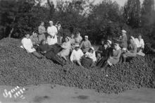 Работники столовой санатория № 3 ВЦСПС. 1949 г.