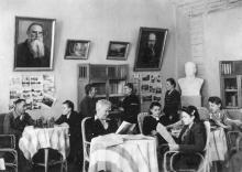 Одесса. Санаторий № 3 ВЦСПС. Библиотека. 28 сентября 1949 г.