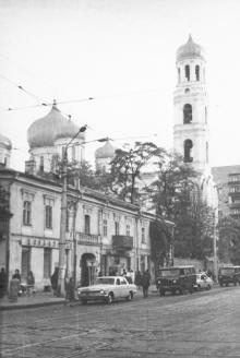 Одесса. Успенский собор на ул. Советской Армии. Середина 1970-х гг.