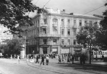 Одесса. Вид на «Пассаж» с Садовой улицы. 1960-е гг.