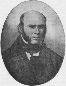 Н.И. Пирогов. Иллюстрация в книге «Одесса. 1794–1894»