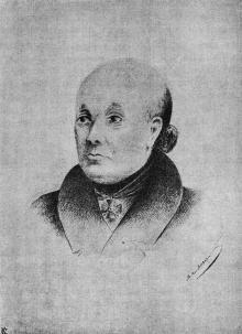 Аббат Николь. Иллюстрация в книге «Одесса. 1794–1894»
