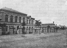 Городское ремесленное училище по Старопортофранковской улице (№ 14). Фотография в книге «Одесса. 1794–1894». 1894 г.