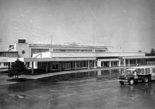 Одесский аэропорт. Фото ОАОО. 1980 г.
